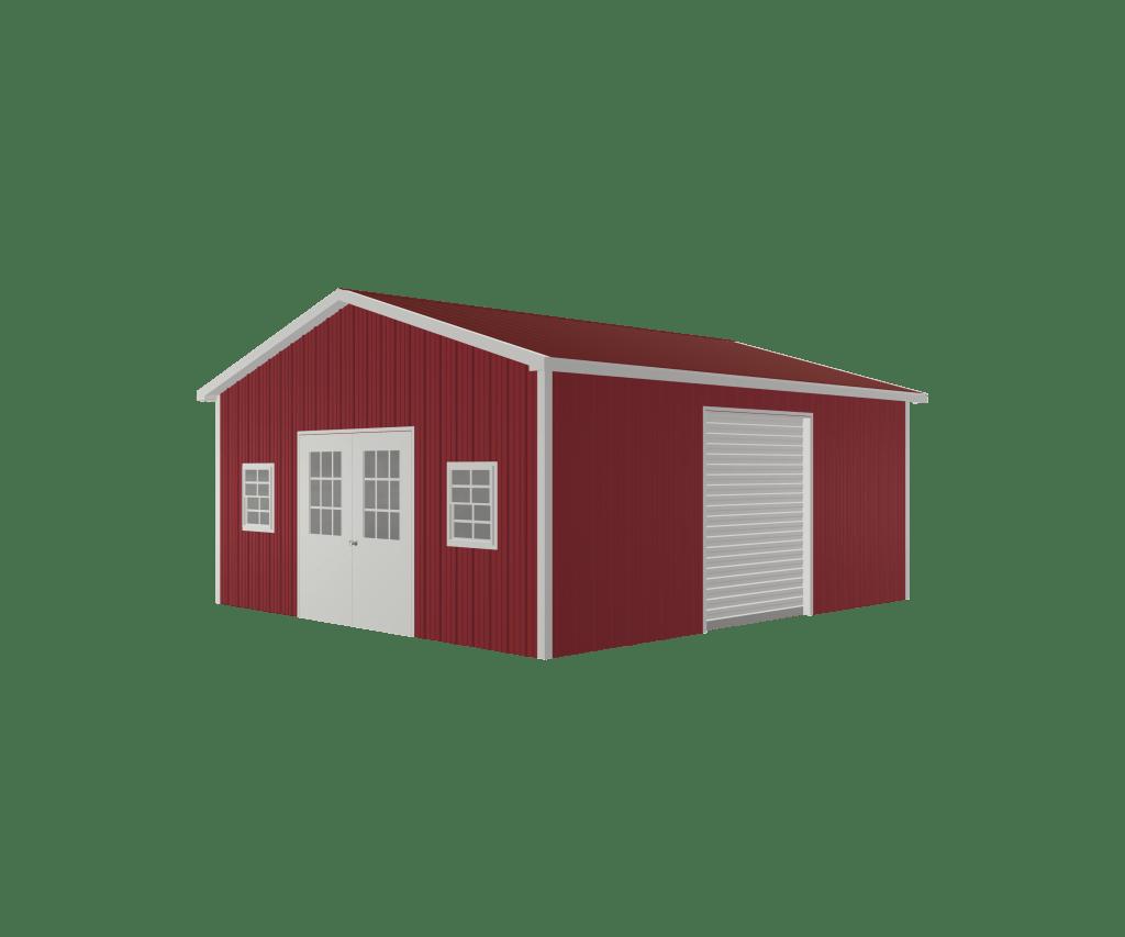 advantages of a portable steel garage