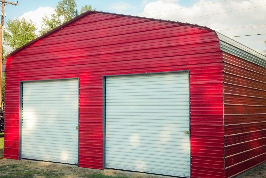 portable steel garages