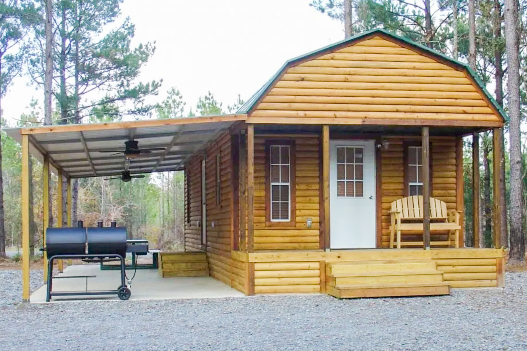 rent cabins product frontier portable display own to cabin