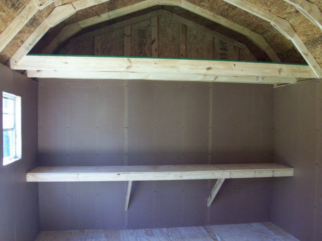 interior shelves lofted storage