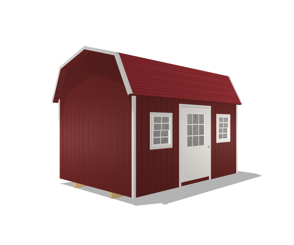 deluxe barn portable shed