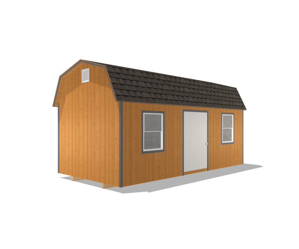 deluxe barn traditional shed