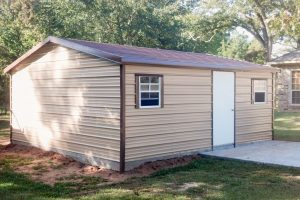 gable style utility shed