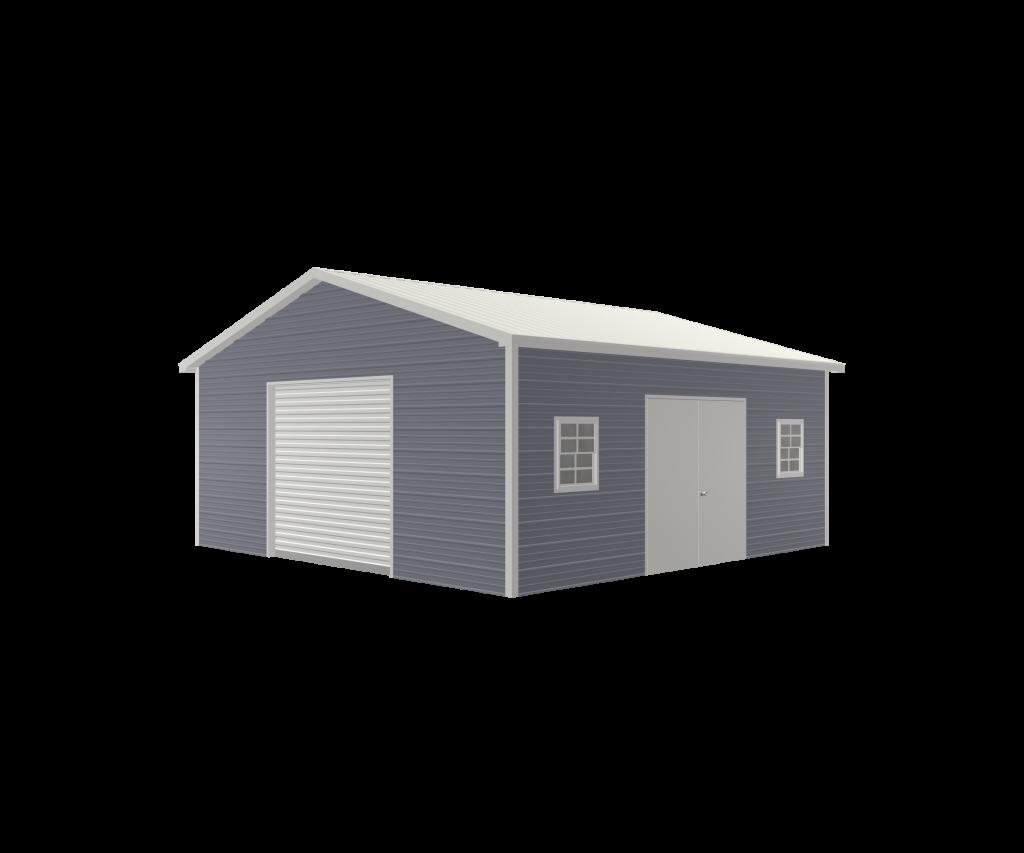 deluxe steel garage