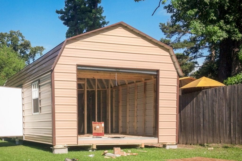 prefab wood detached garages keithville low payment