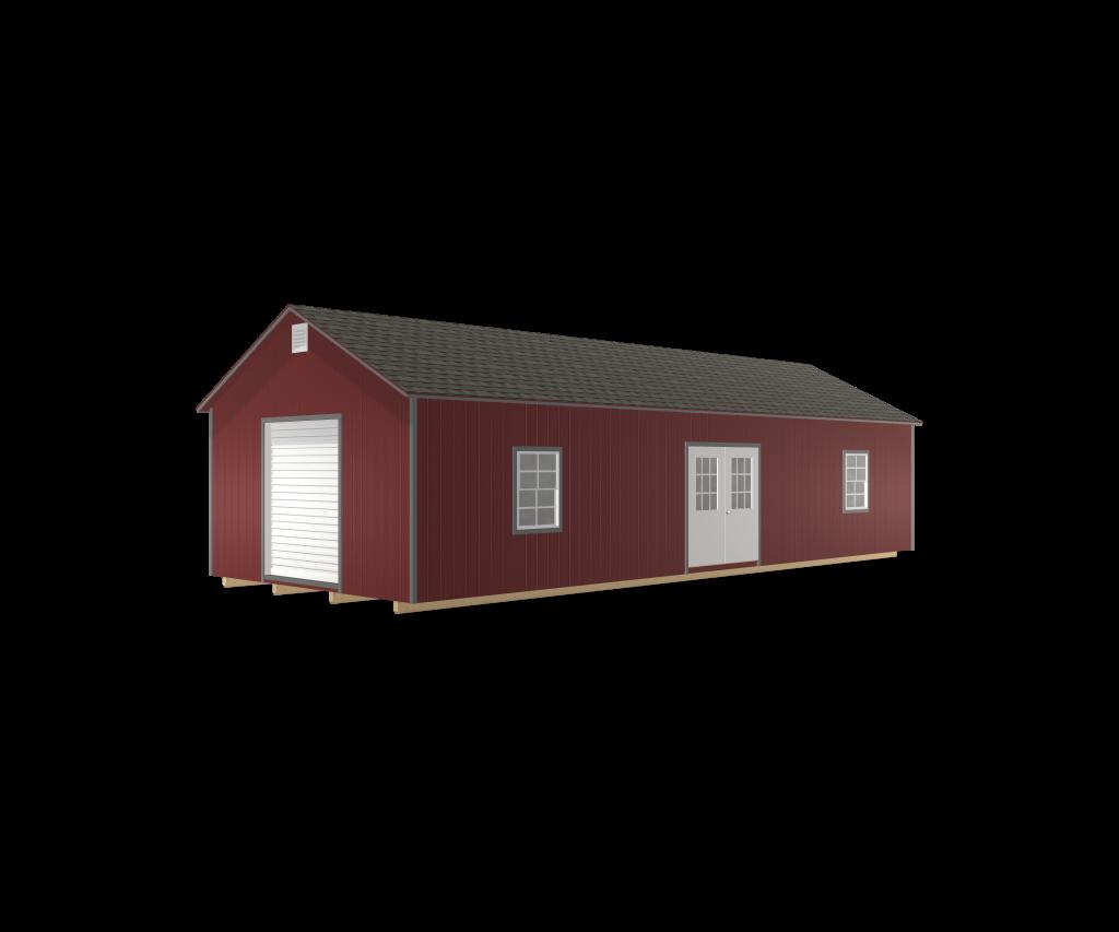 wood garage deluxe